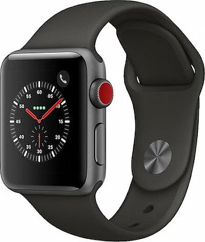 Apple Watch 3 Cellular Aluminium 38mm Space Gray EU