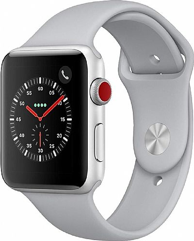 Apple Watch 3 Cellular Aluminium 42mm silver EU