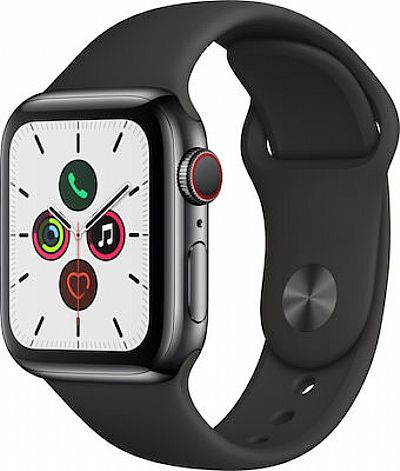 Apple Watch  4 Cellular Steel 40mm Space Grey EU