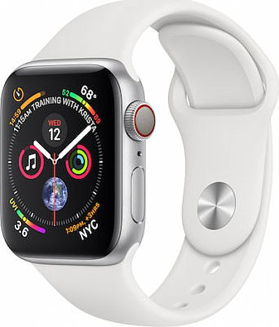 Apple Watch 4 Cellular Aluminium 40mm Silver EU