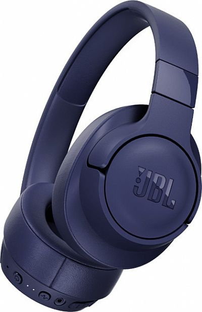 JBL Tune 750BTNC Over-Ear Bleutooth Headphones Blue