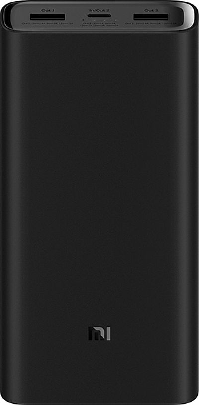 Xiaomi Mi Power Bank 3 Pro 20000mAh Black EU